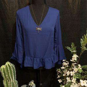 🌈🍀 Sheer blouse